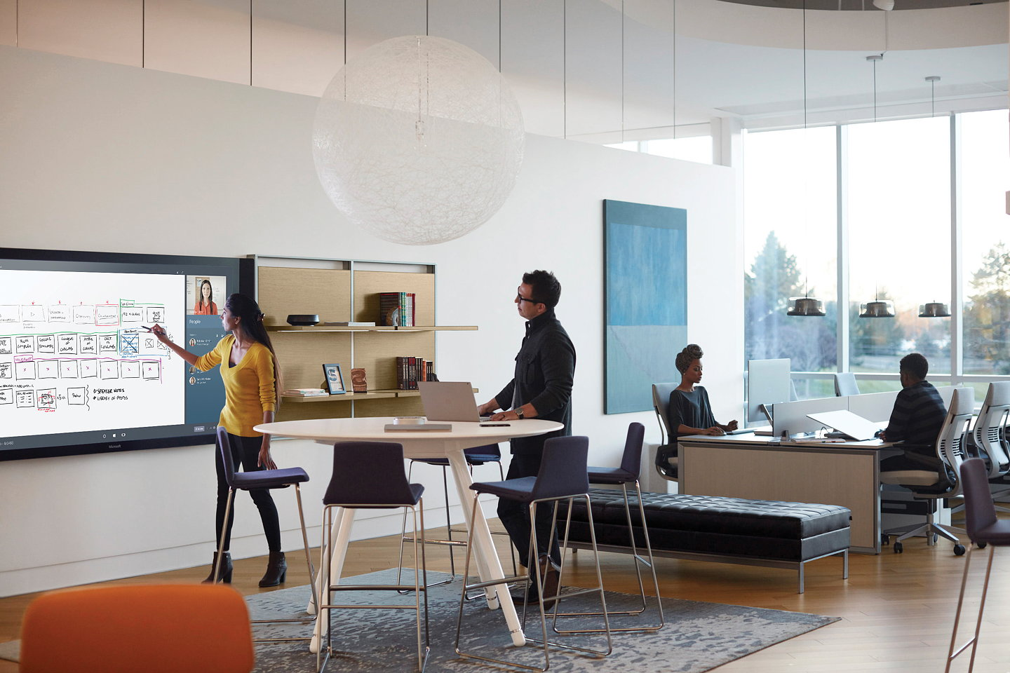 Microsoft And Steelcase Introduce Office For Creative Work