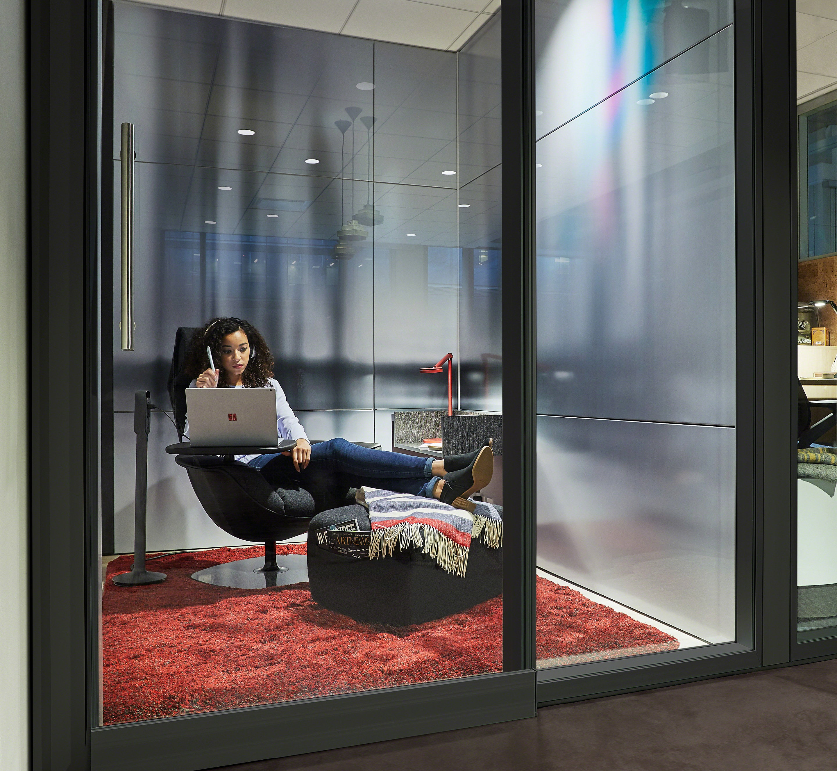 Office for Creative Work by Microsoft and Steelcase