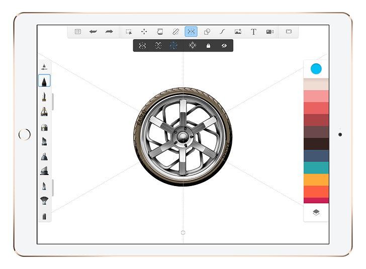Autodesk SketchBook 4 for iOS 01