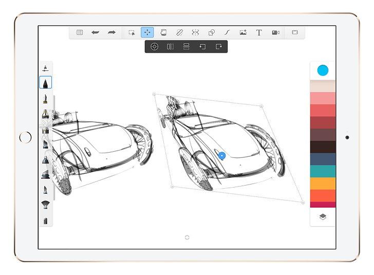 Autodesk SketchBook 4 for iOS 02
