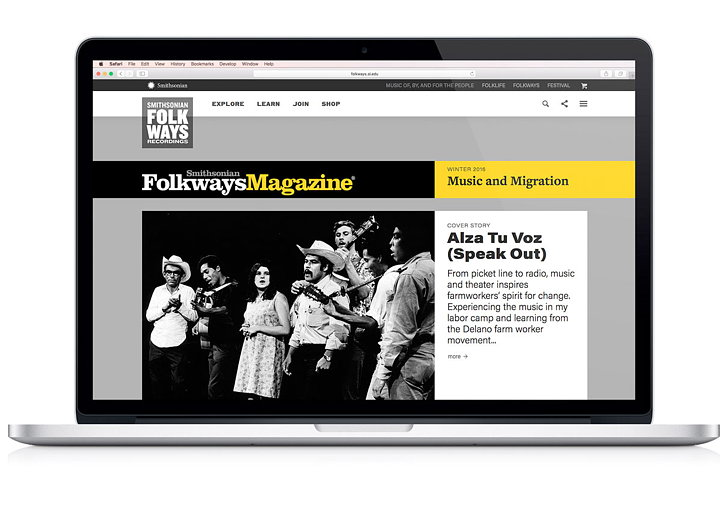 Smithsonian Center New Websites and Identities 03