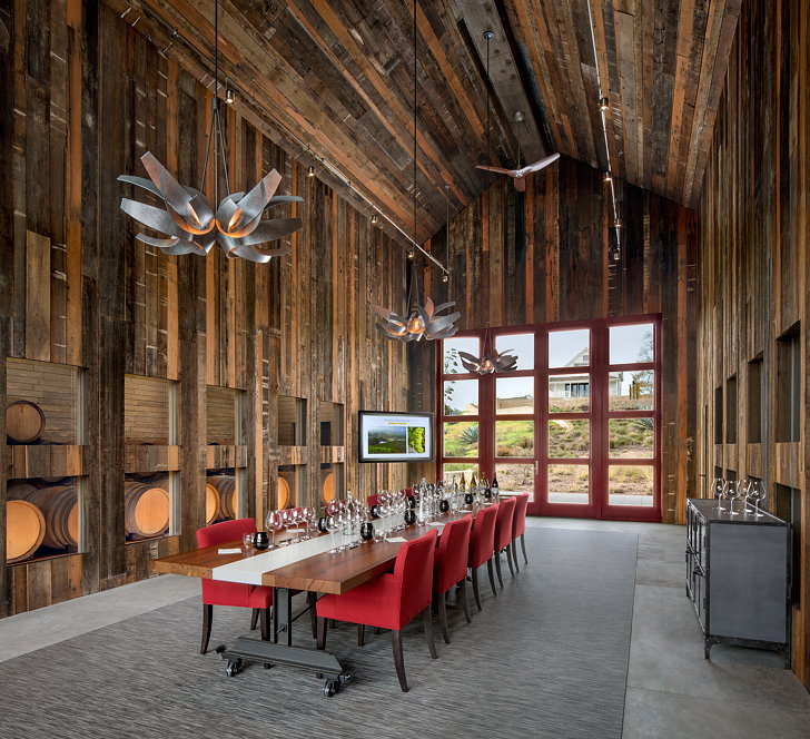 Kistler Vineyards Barn By Architectural Resources Group