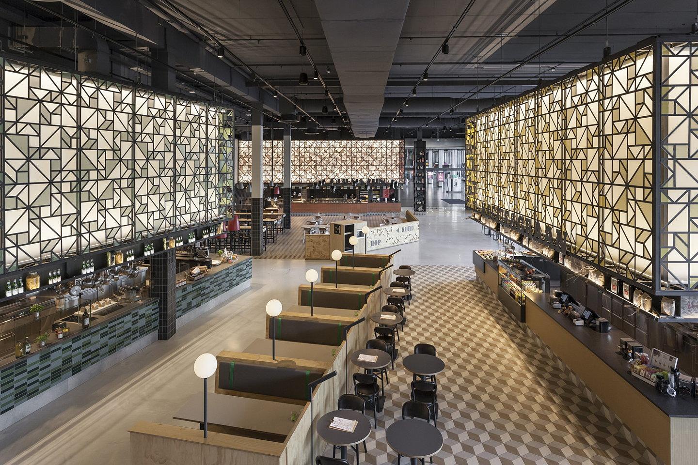Uxus designs speys eten drinken at the jaarbeurs event for Hotel design utrecht