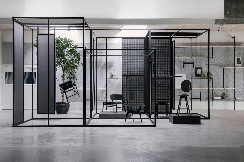 brdr kr ger opens new showroom designed by oeo studio. Black Bedroom Furniture Sets. Home Design Ideas