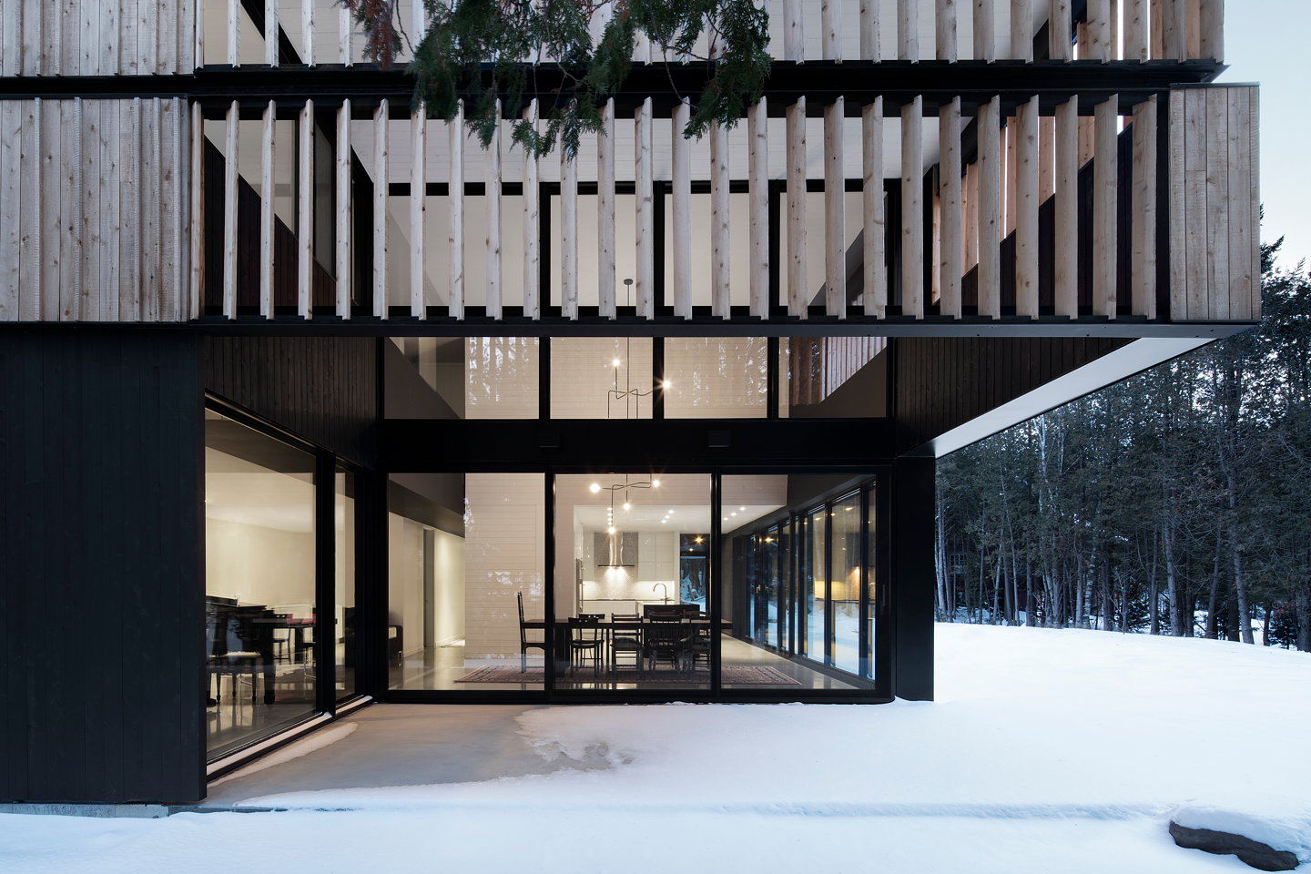 House Lachance by ACDF