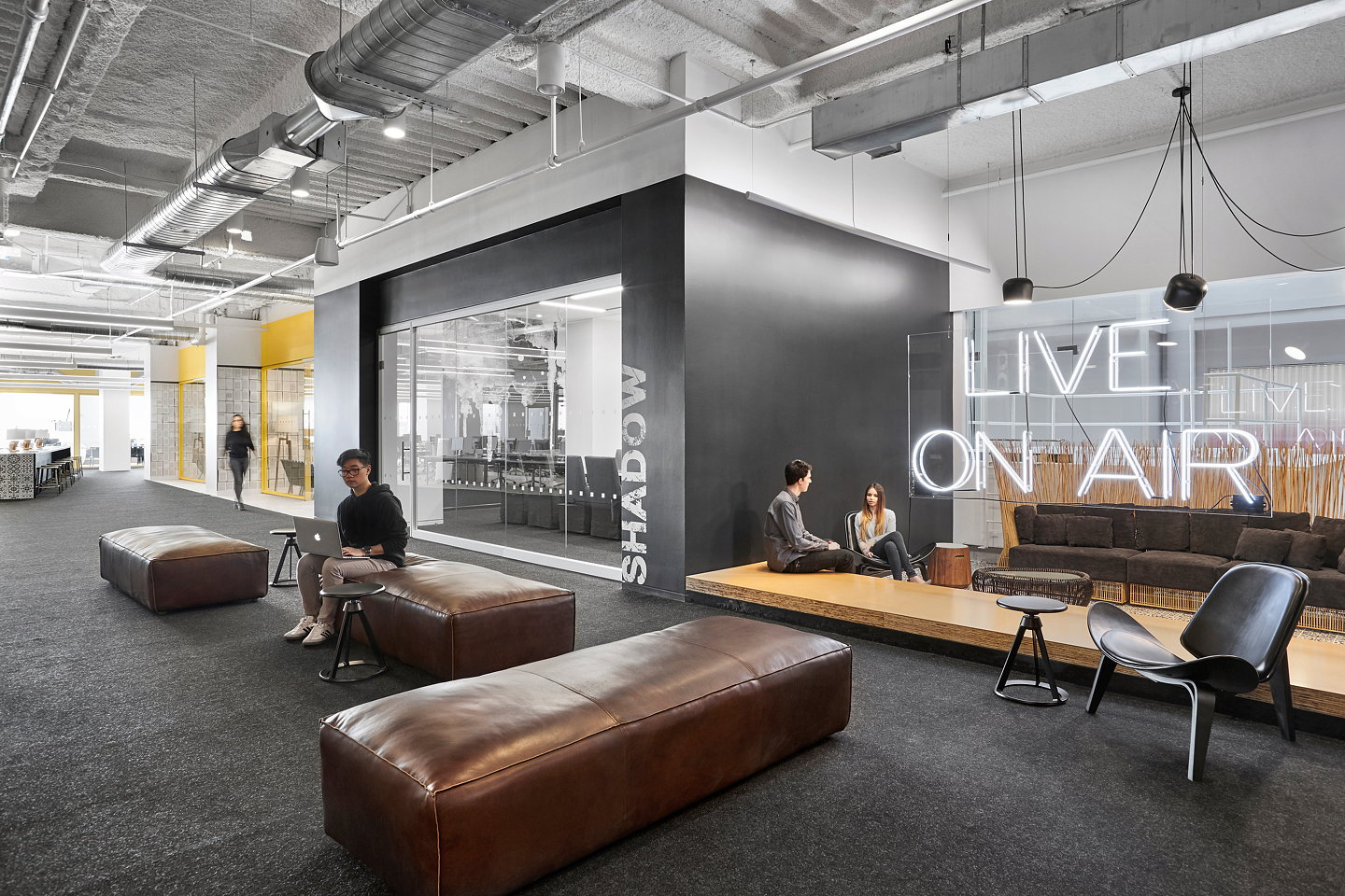 Ted Moudis Associates Designs Mediabrands New Nyc Office