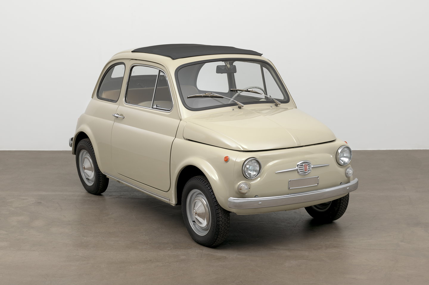 moma adds original condition 1968 fiat 500 to collection. Black Bedroom Furniture Sets. Home Design Ideas