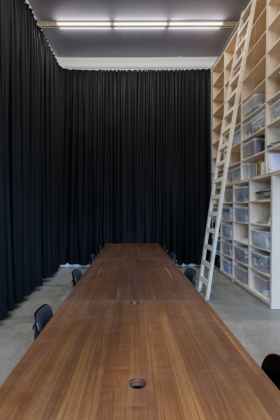 Japanese Classroom Design ~ Caruso st john refurbishes kvadrat soft cells design studio