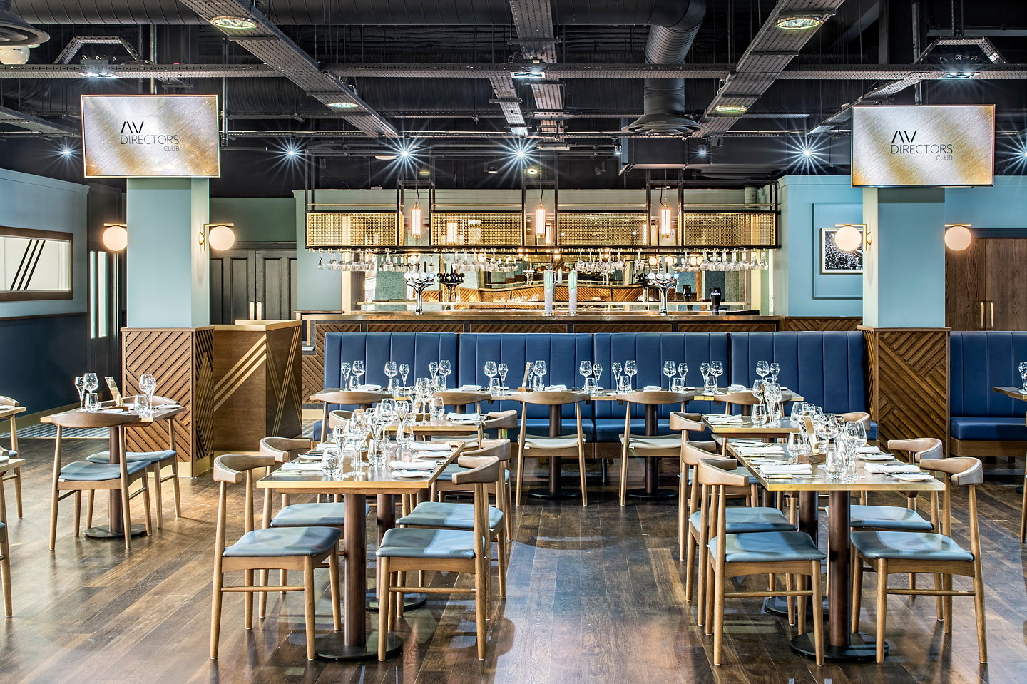 Nick Leith Smith And Forward Associates Deliver New Dining