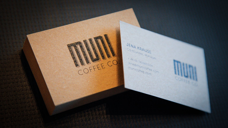 Crate47 Creates Branding for Muni Coffee Company