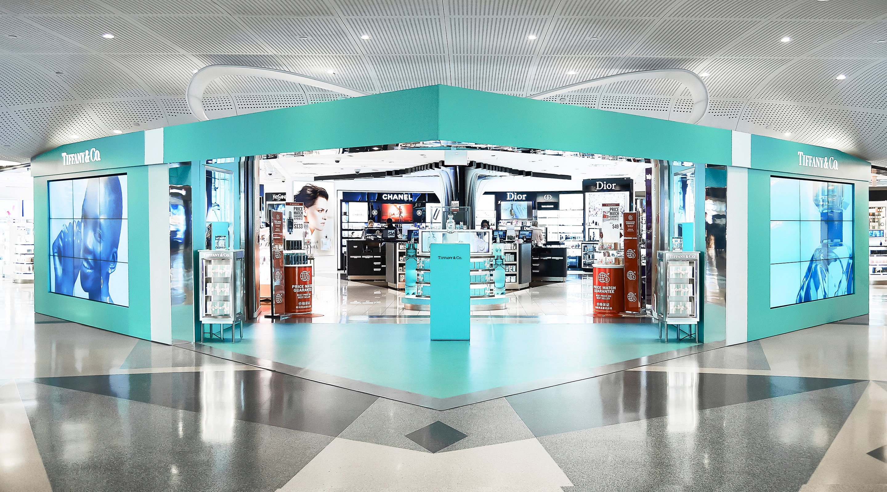 Iconic Tiffany Blue Box Comes To Life at JFK Airport