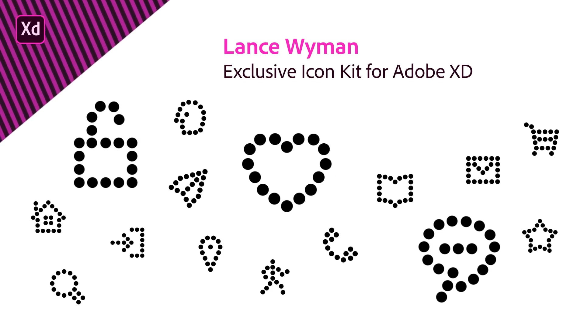 Free Icon Kits for Adobe XD CC