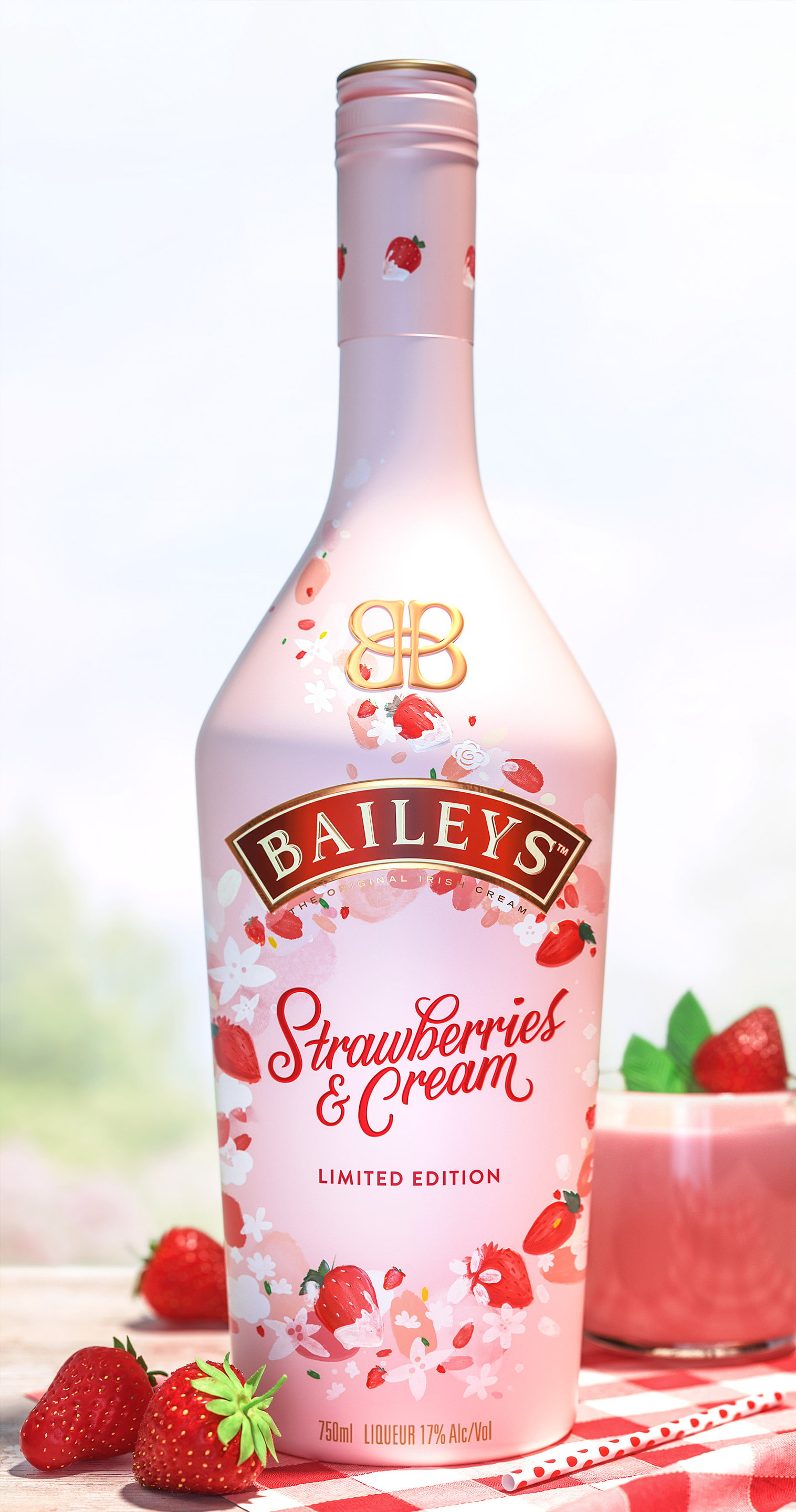 Baileys Limited Edition Strawberries and Cream