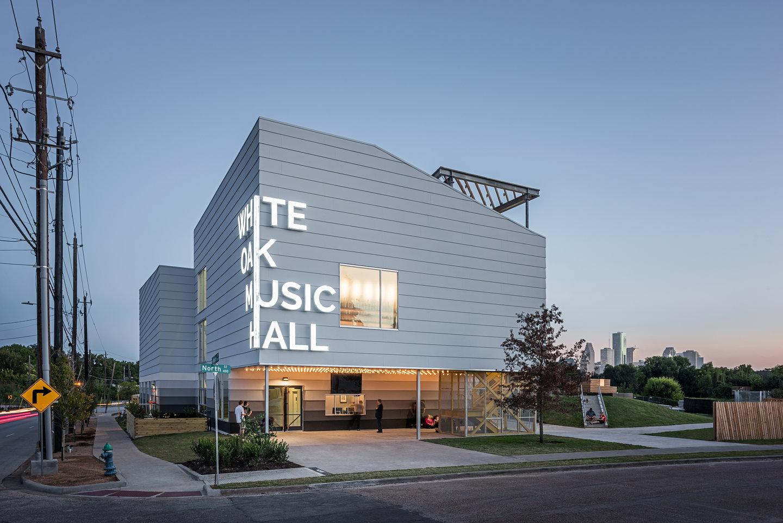 Schaum Shieh Designs White Oak Music Hall In Houston