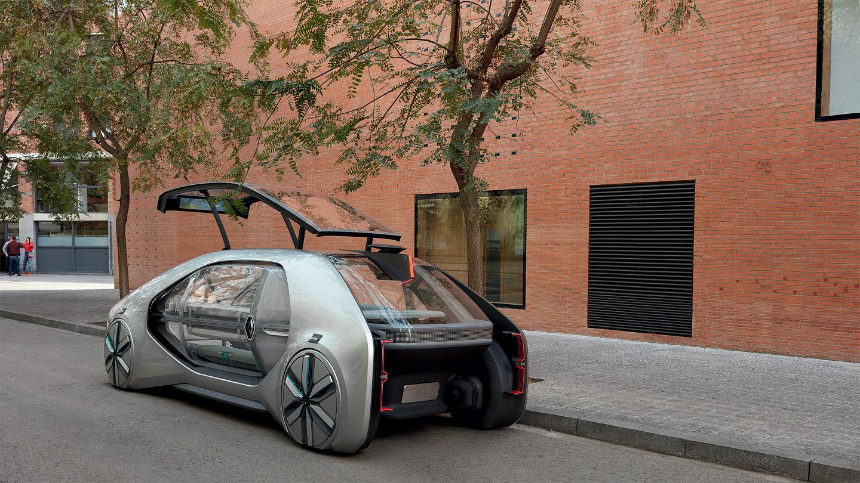 renault unveils ez go concept car. Black Bedroom Furniture Sets. Home Design Ideas