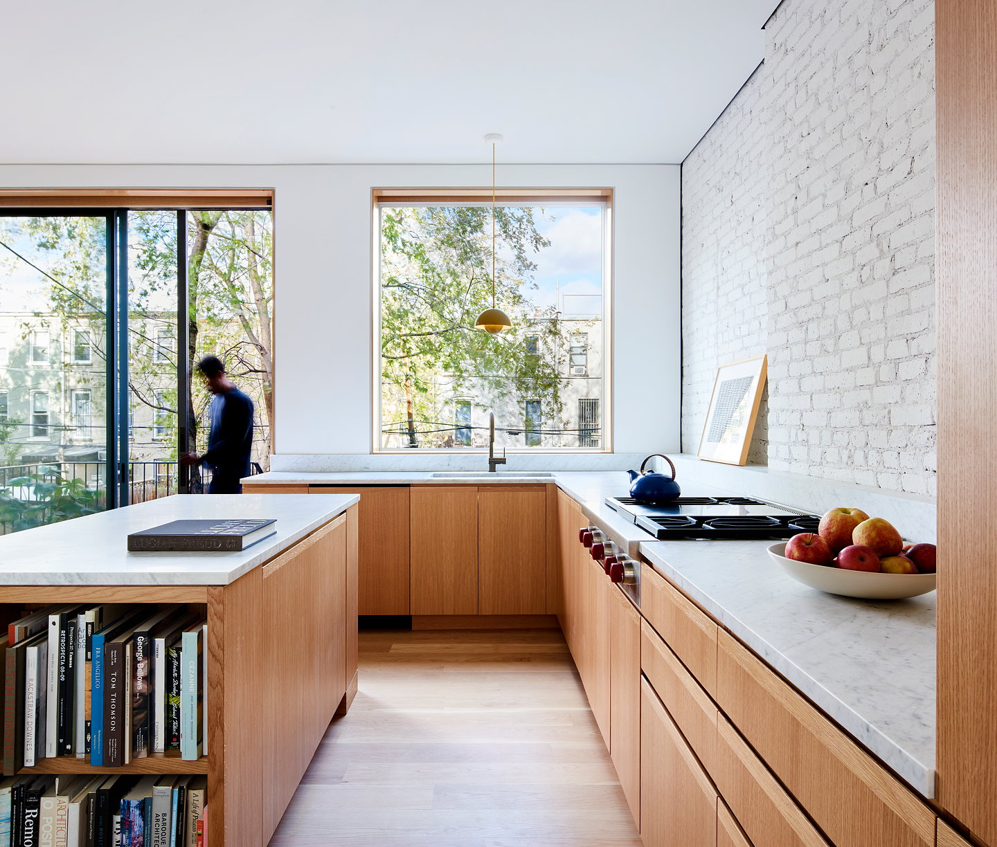 L/AND/A Designs Switchback House in Brooklyn