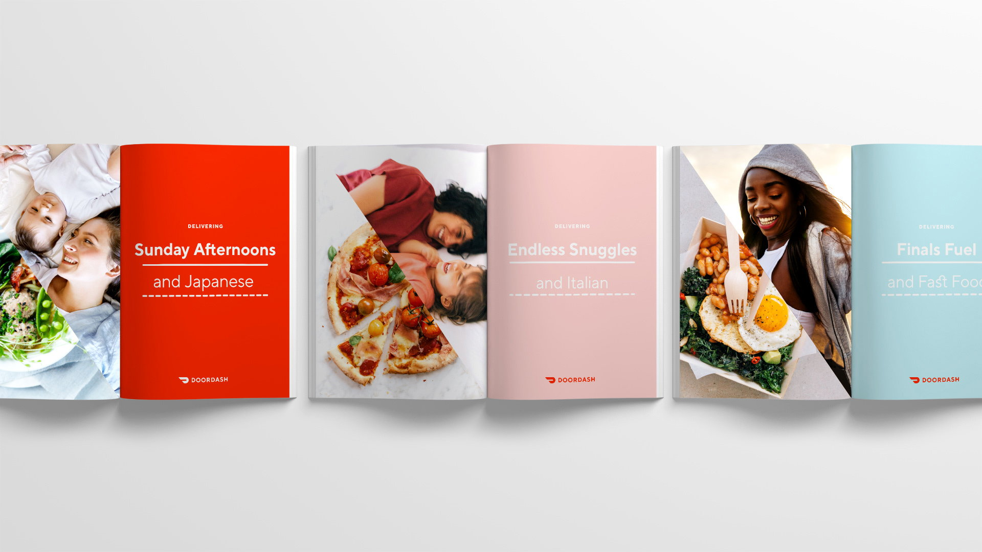 Character Designs New Branding for DoorDash