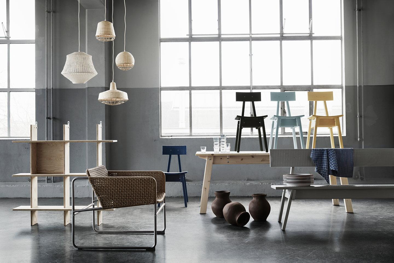 Design Kast Ikea : Ikea x piet hein eek industriell collection