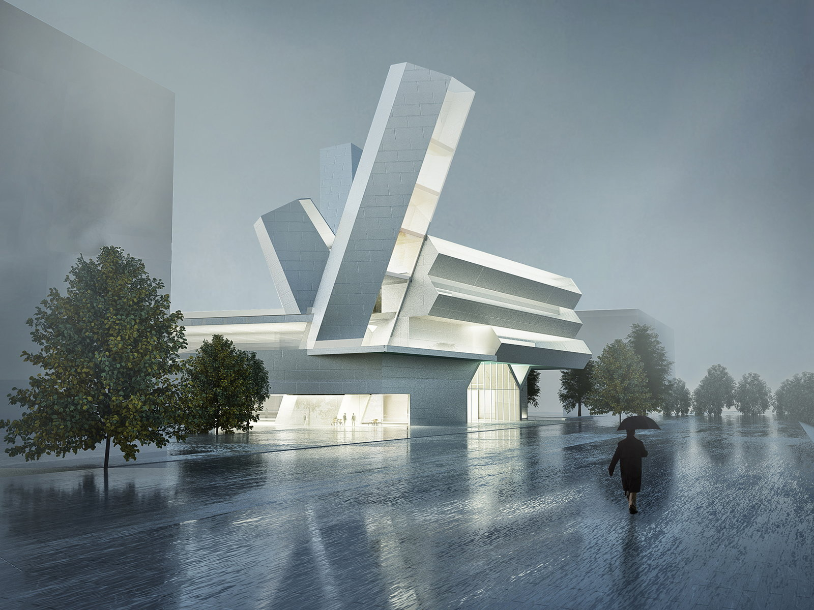 University College Dublin Future Campus by Steven Holl Architects