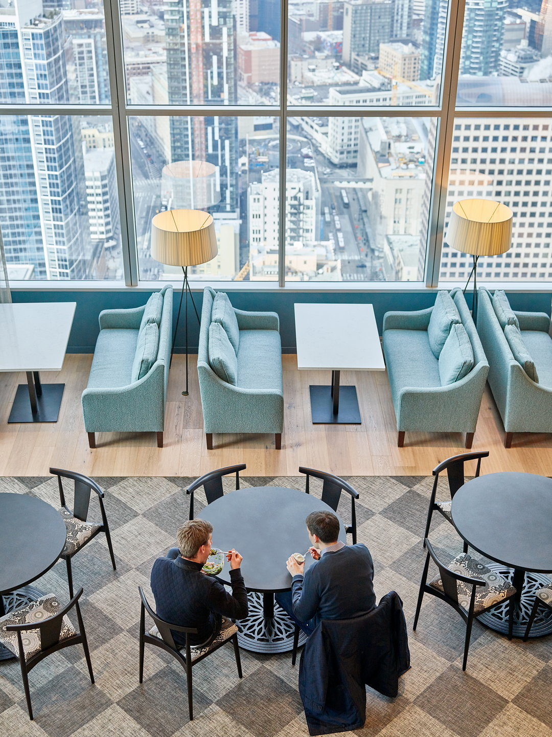 Boston Consulting Group Offices In Seattle Designed By Skb Architects