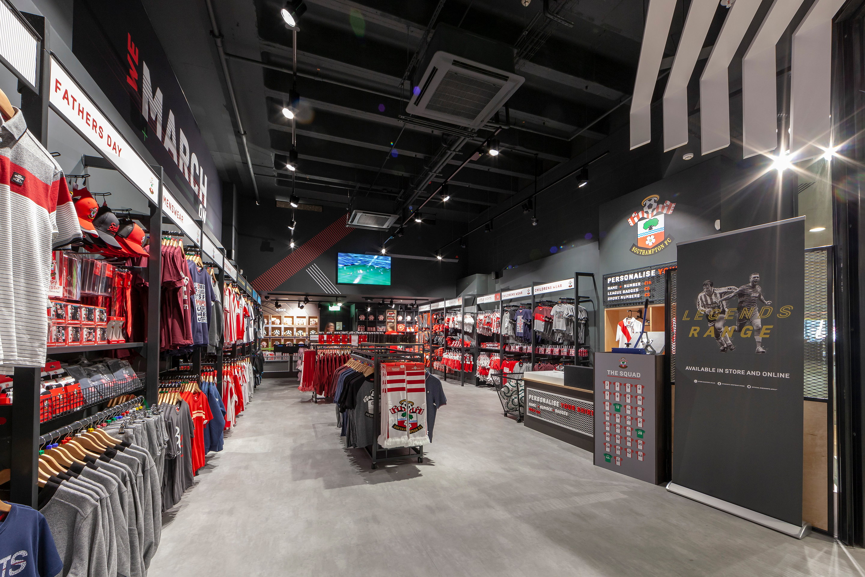 Green Room Upgrades 'Saints Store' for Southampton Football Club