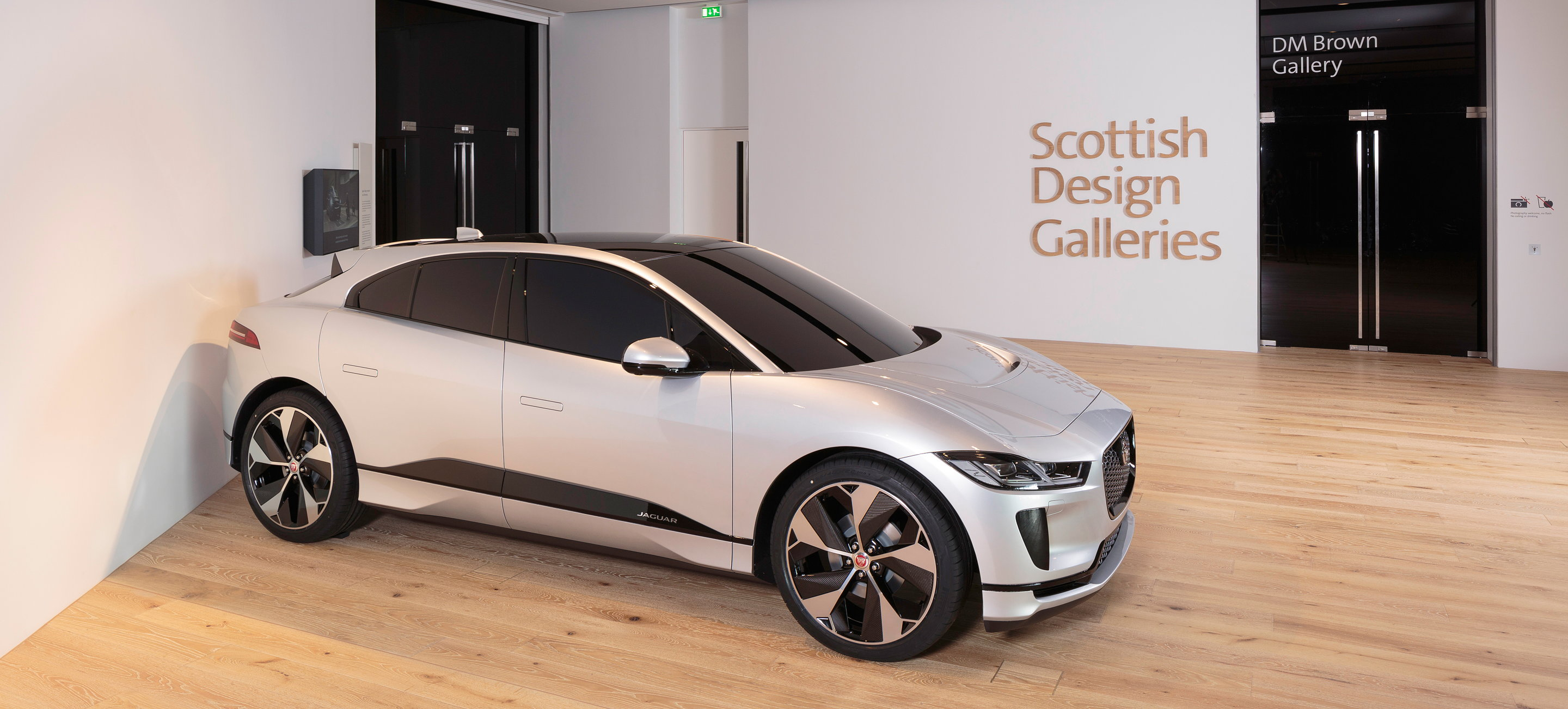 Jaguar I Pace Clay Model