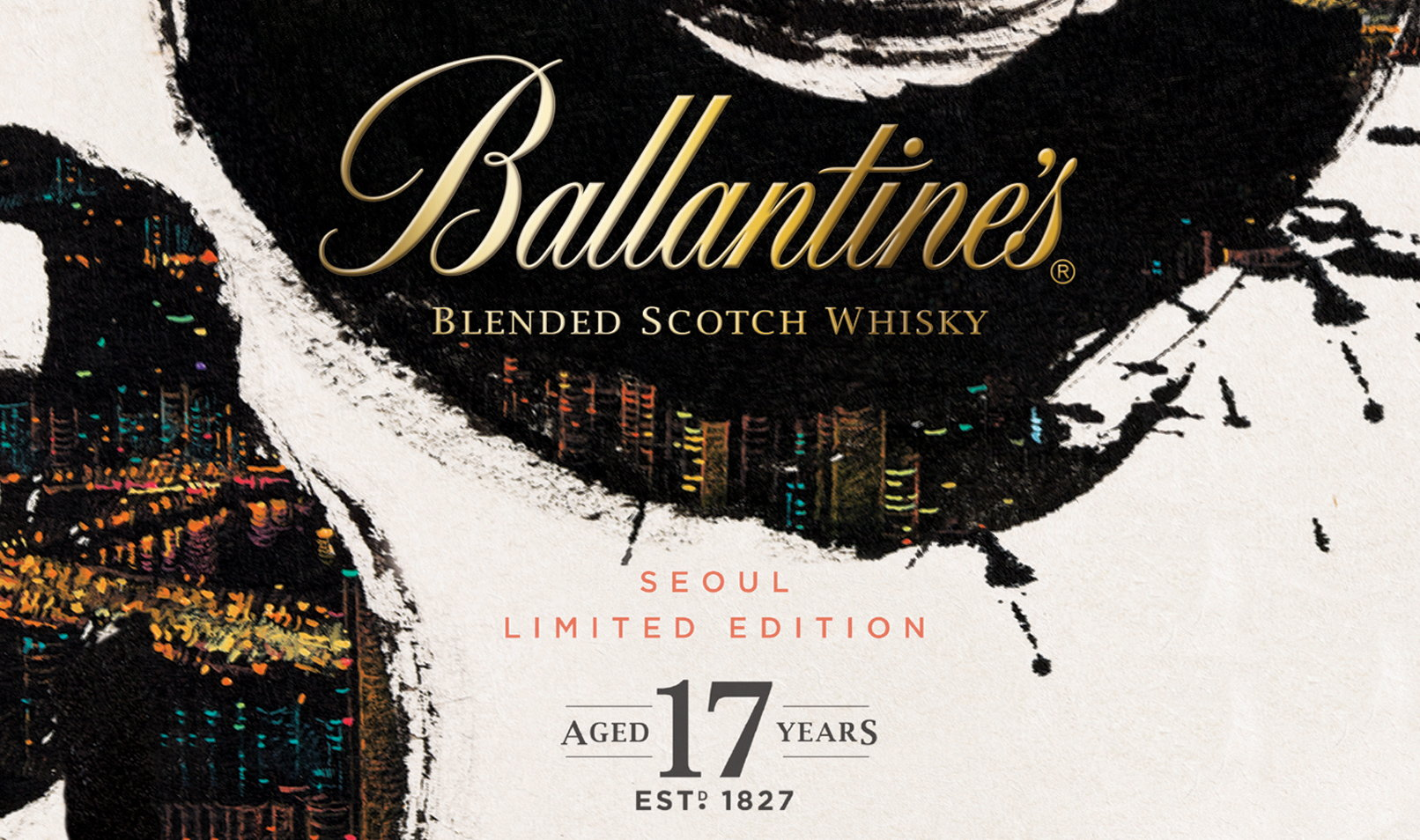 Ballantines Seoul Limited Edition