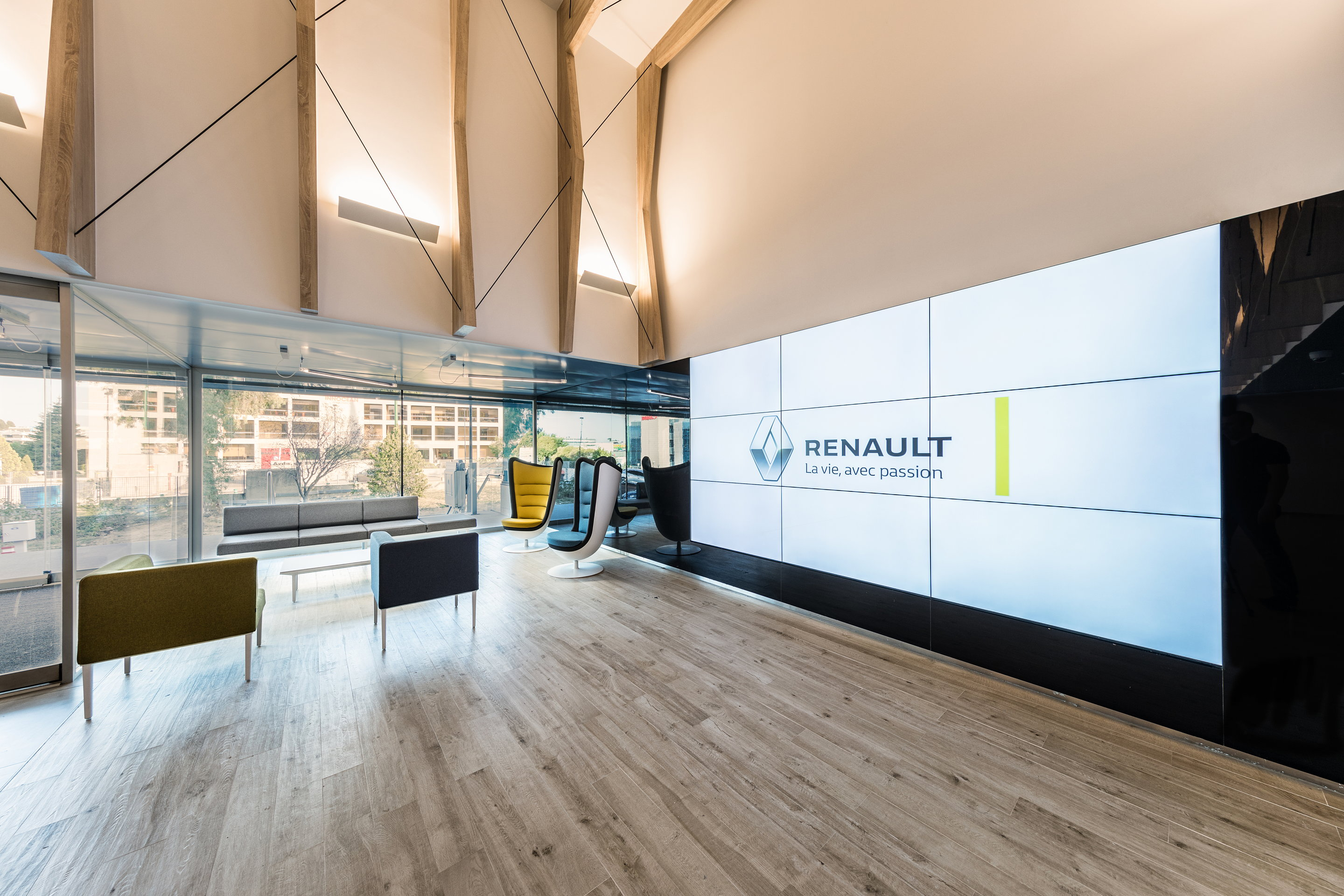 Renault Madrid Headquarters