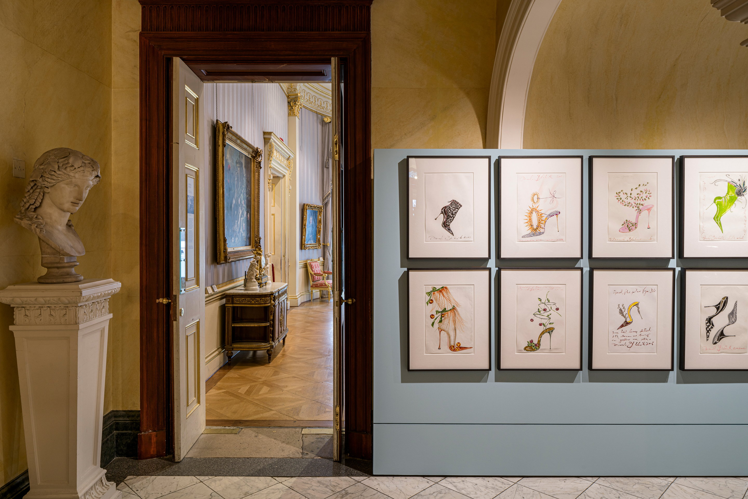 Manolo Blahnik at the Wallace Collection