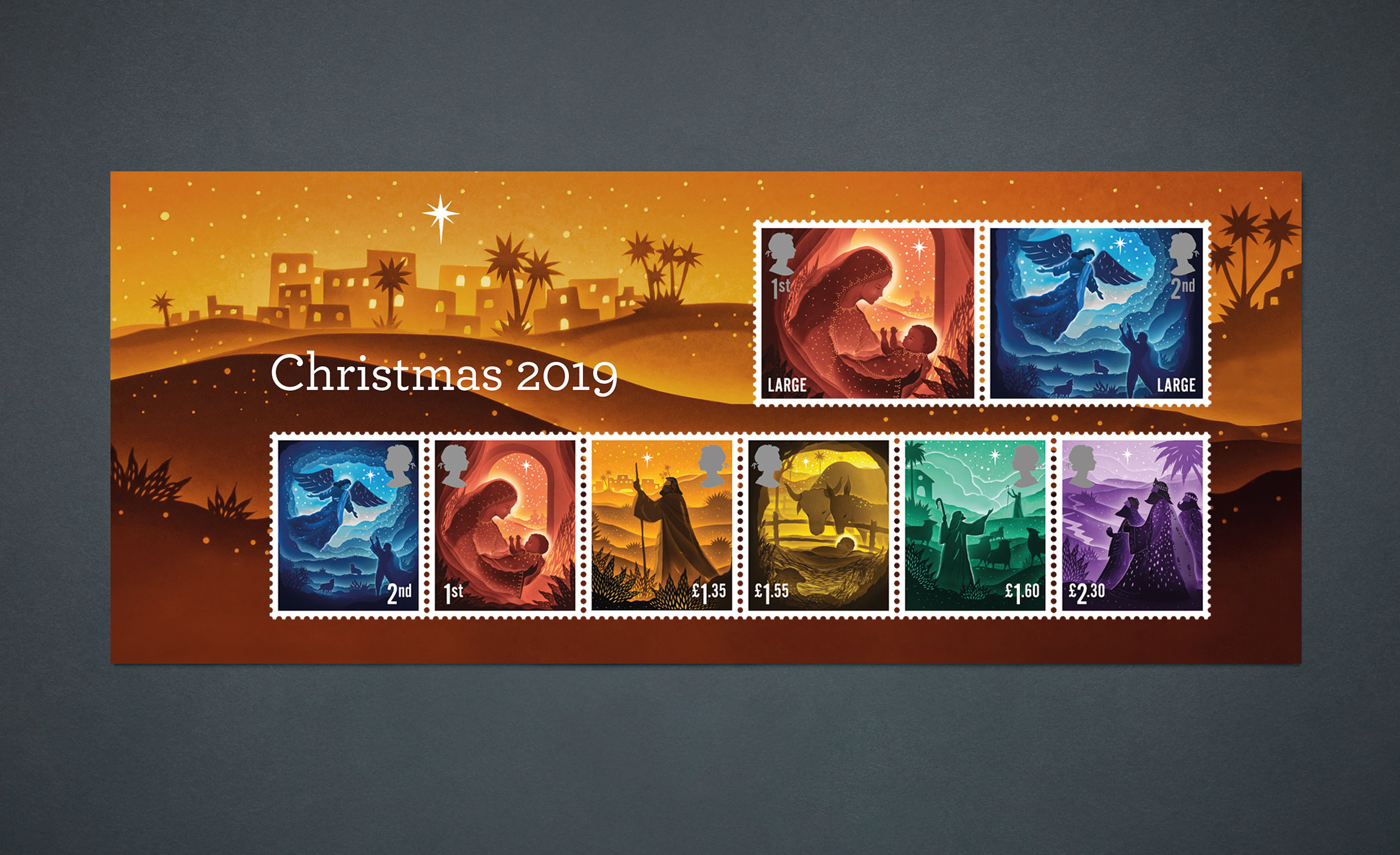 Royal Mail 2019 Christmas Special Stamps