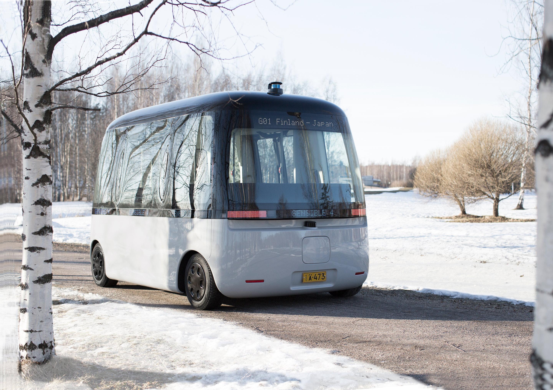 GACHA Self Driving Shuttle Bus