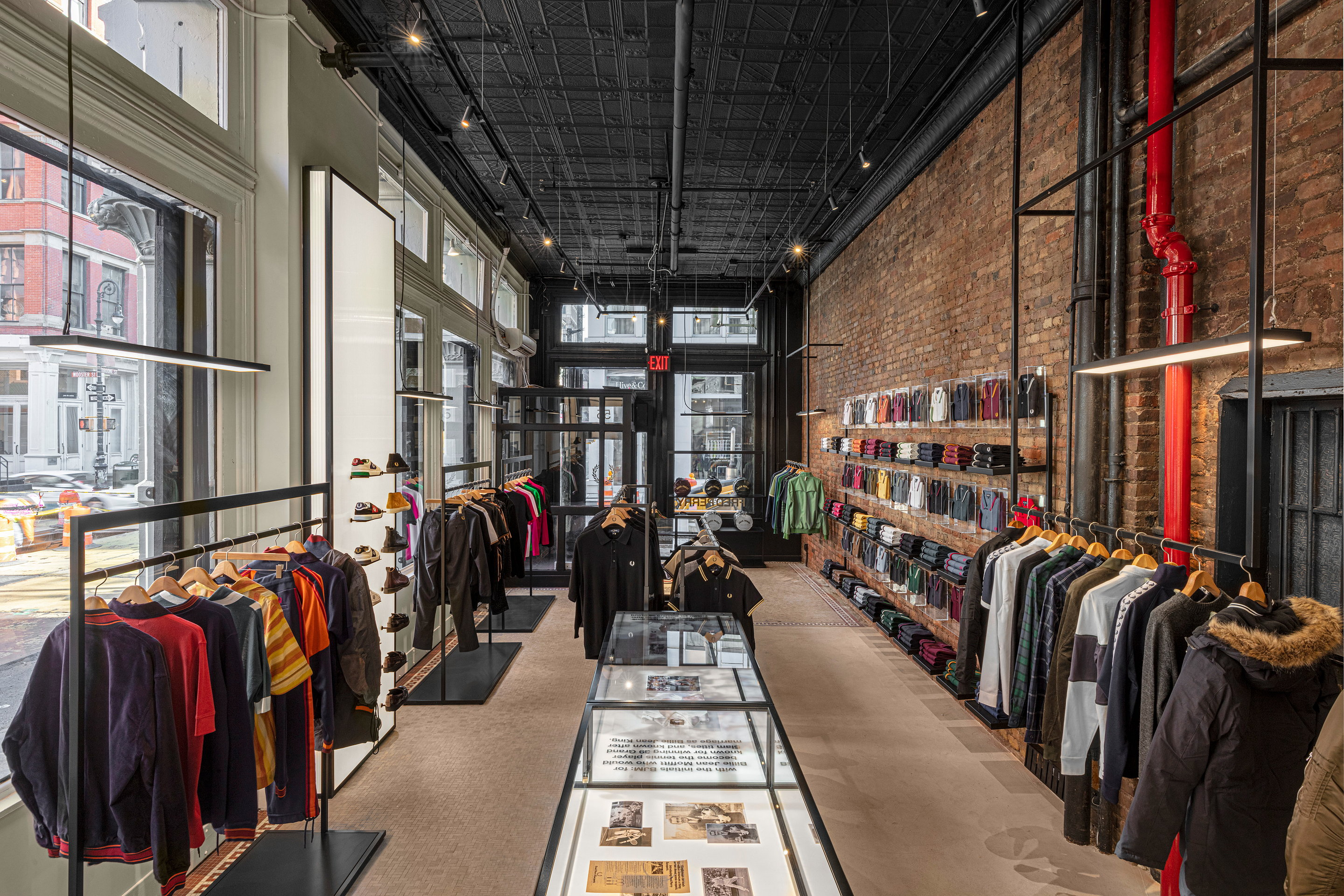 Fred Perry NYC Flagship