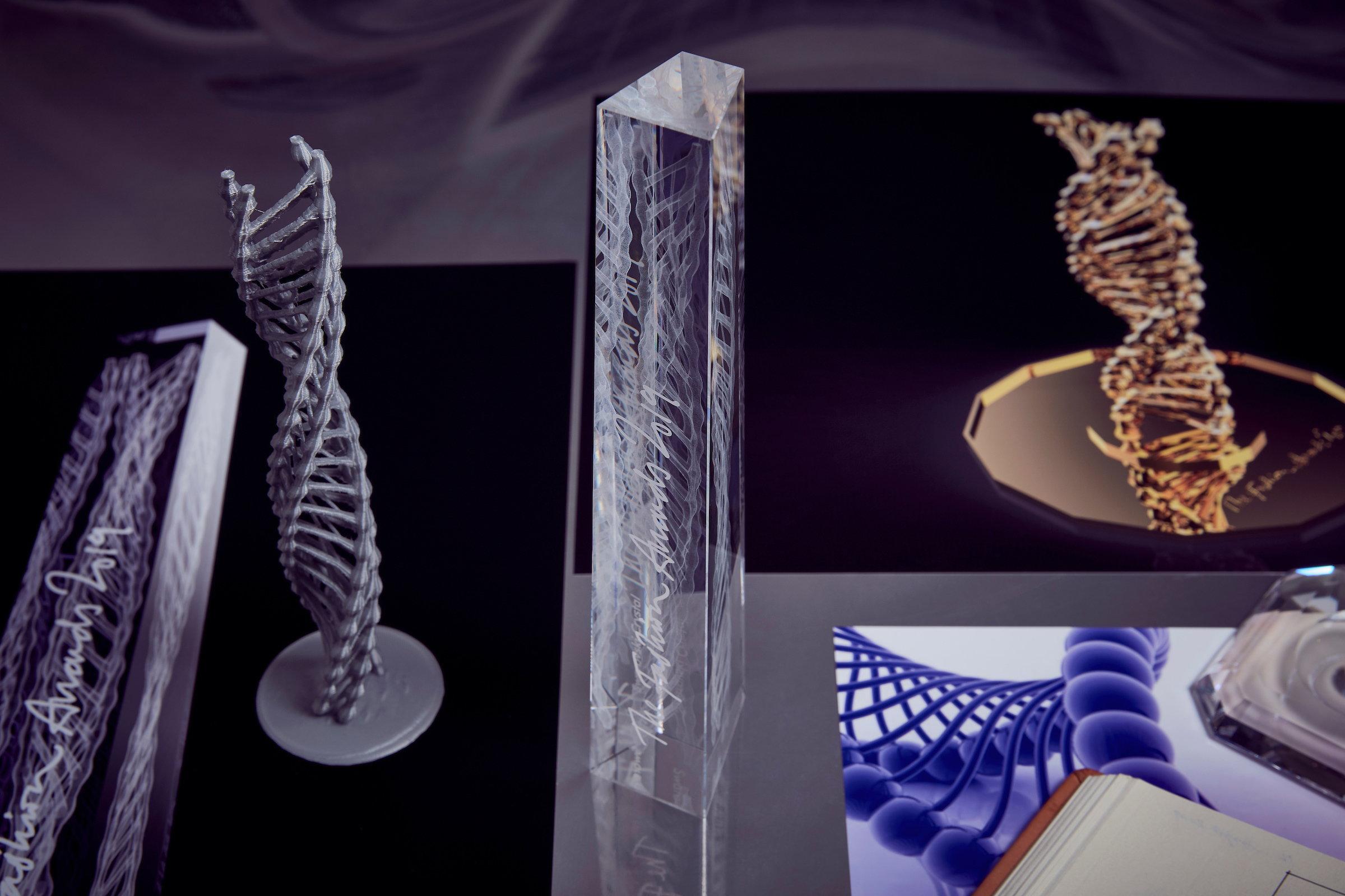 2019 British Fashion Awards Trophy