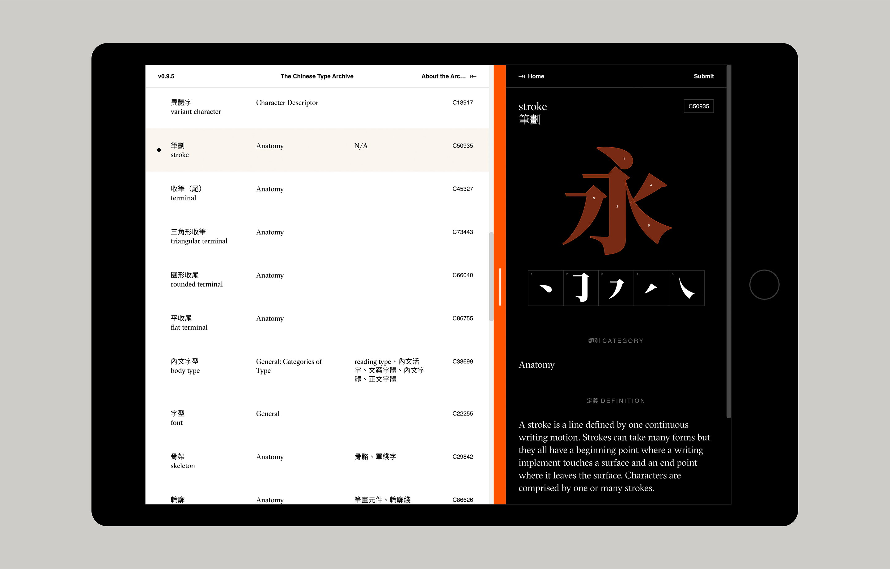 Chinese Type Archive