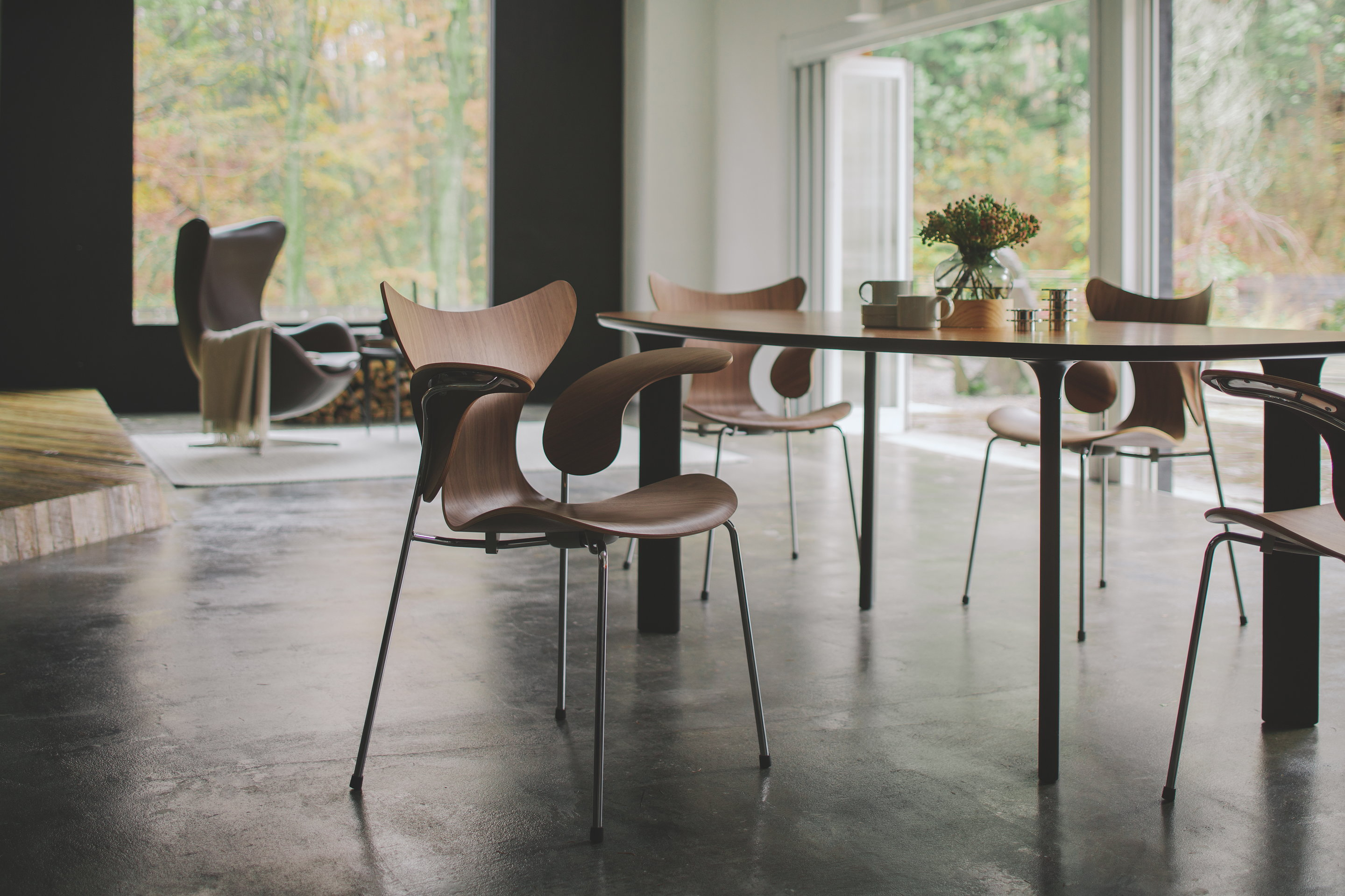 Fritz Hansen Lily Chair 50th Anniversary Edition