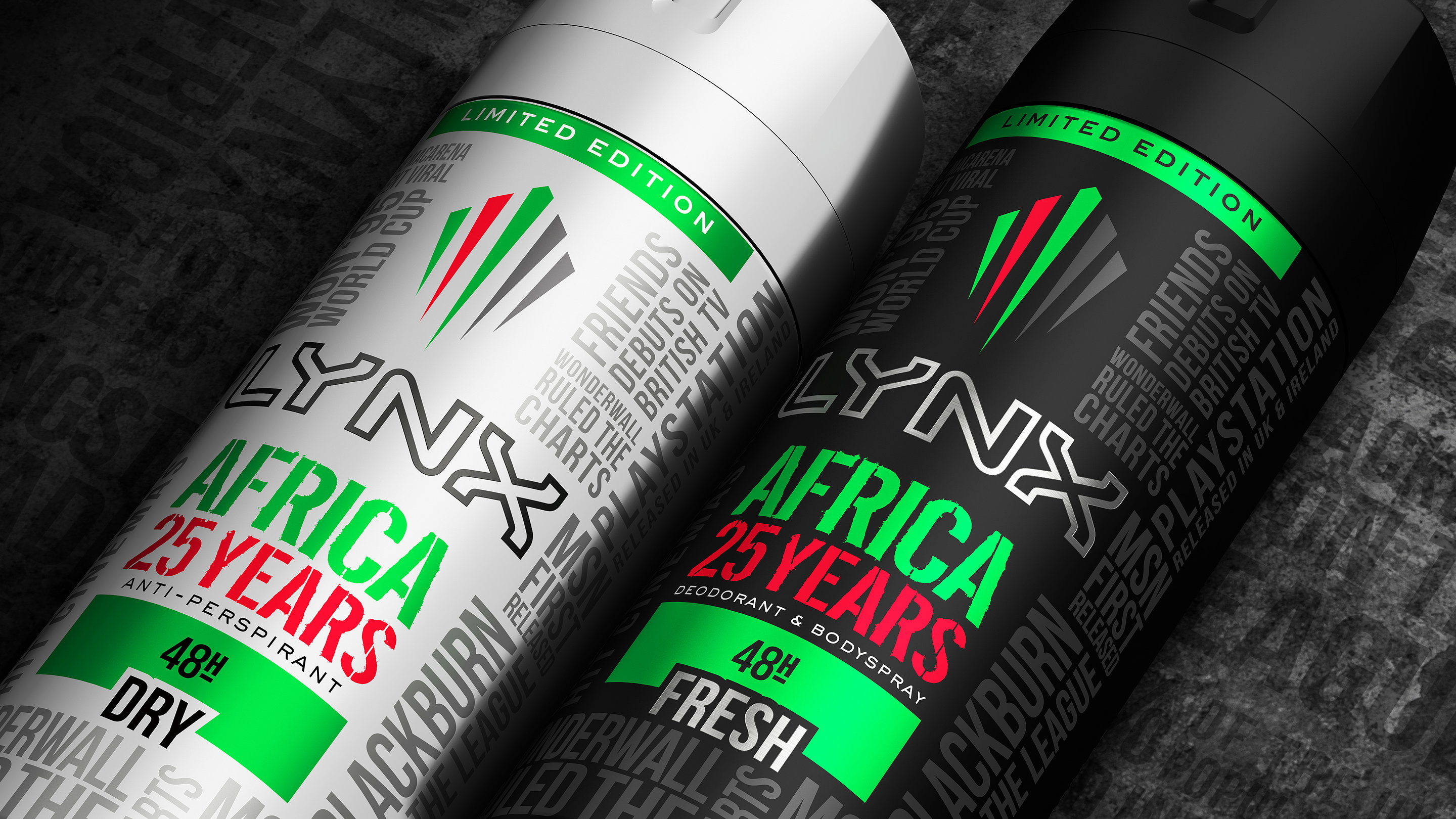 Lynx Africa 25 Years Limited Edition