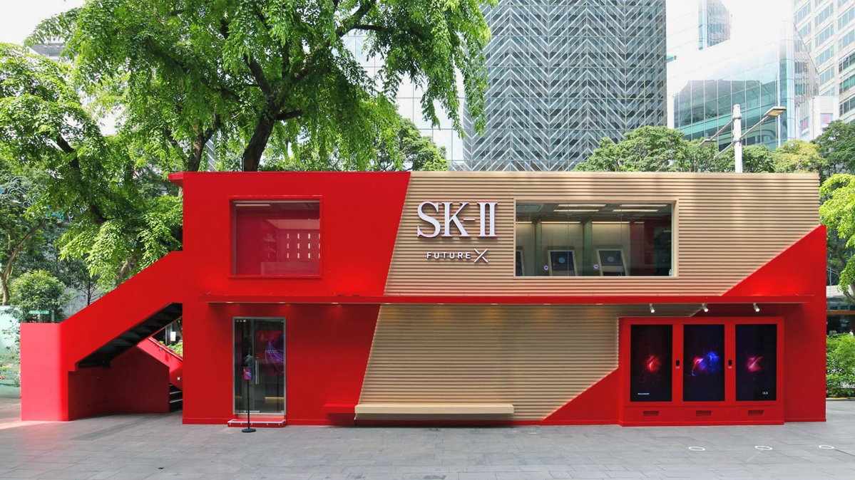 SK II Future X Smart Stores Installation