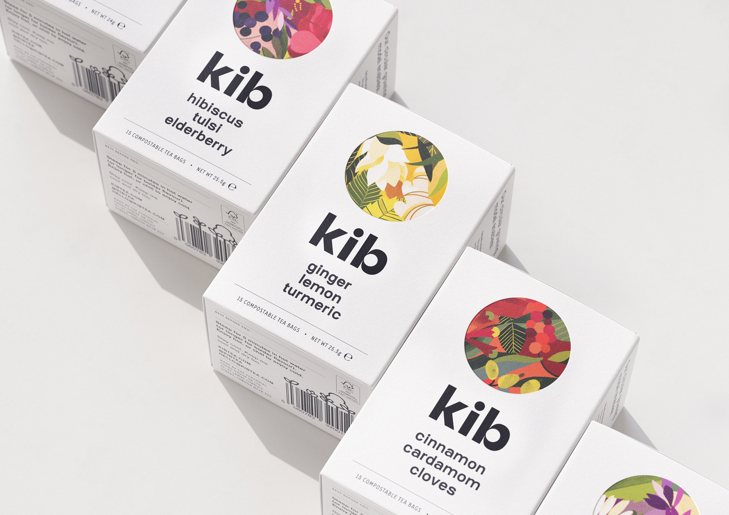 Kib Herbal Tea Range