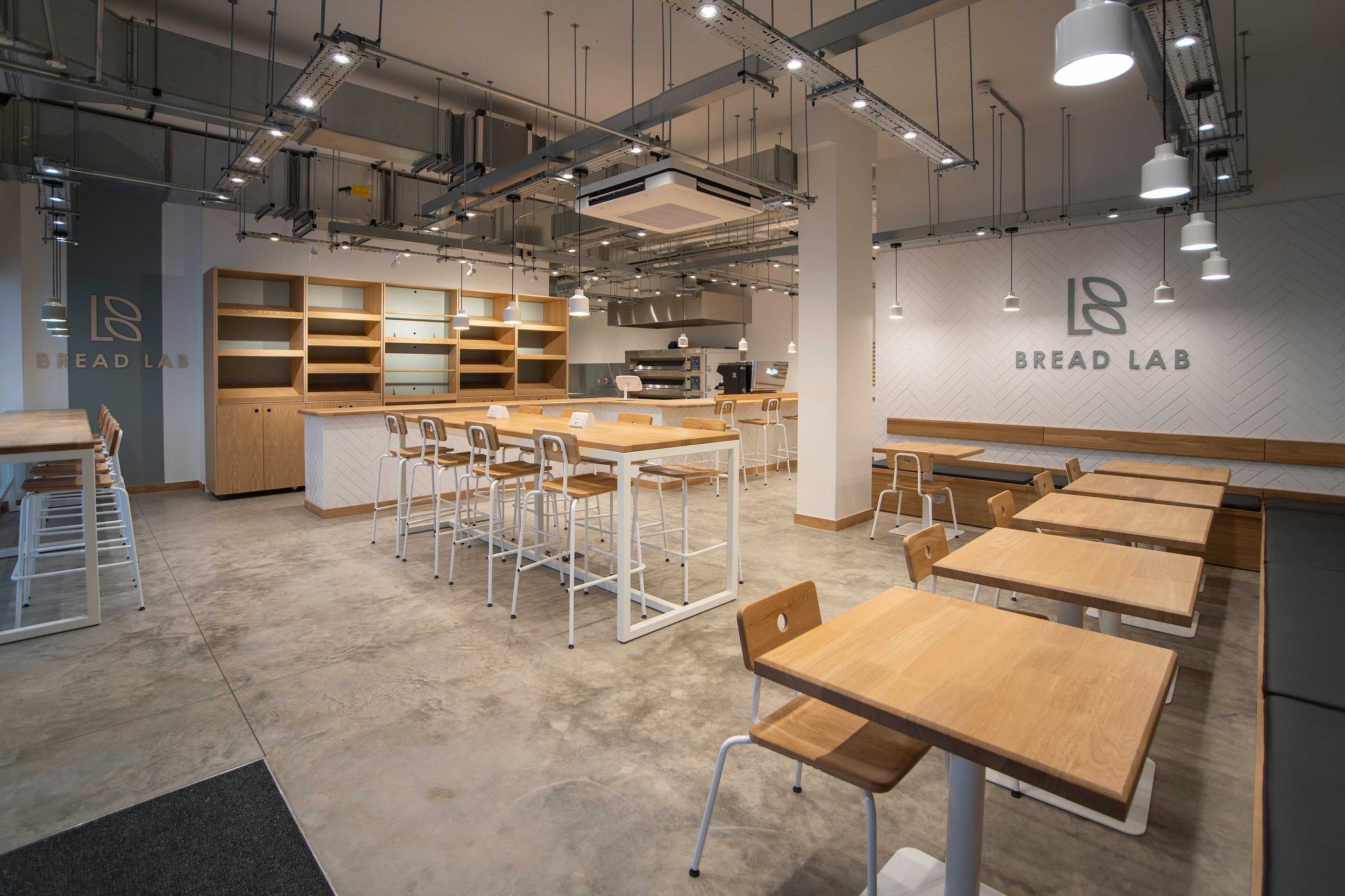 Liqui Group Completes Minimalist Interiors For Bread Lab Bakery In London