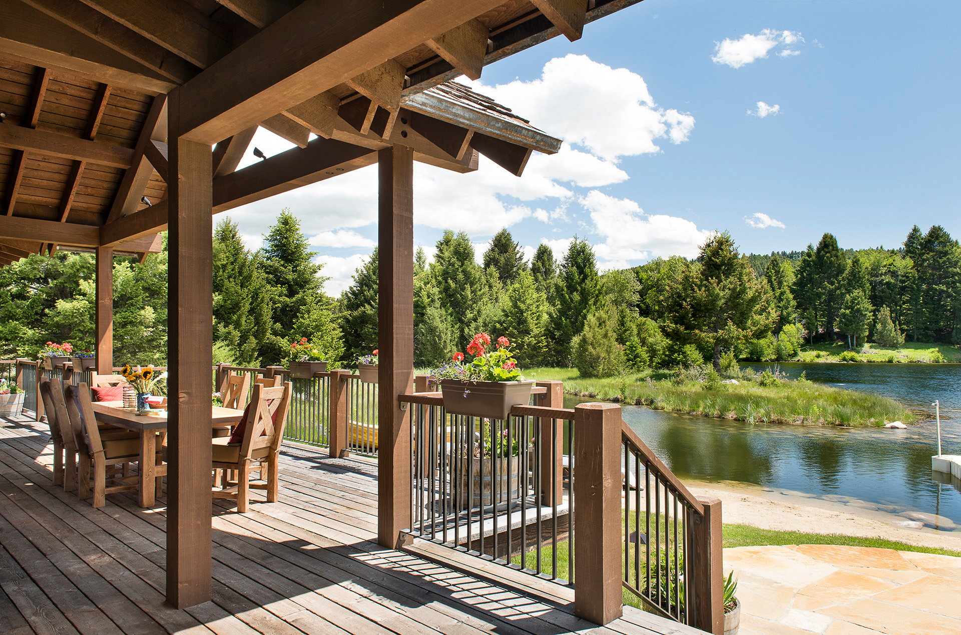 Rock Creek Cattle Company Lake Cabin