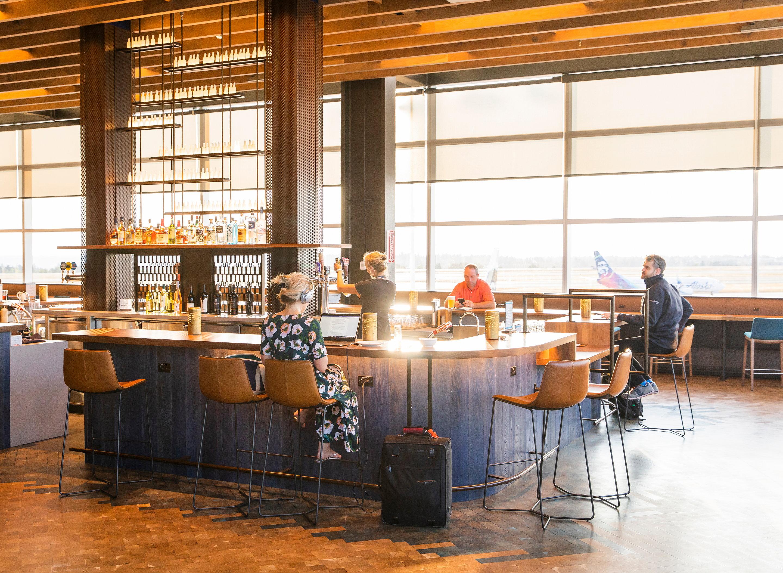 Alaska Airlines Flagship Lounge