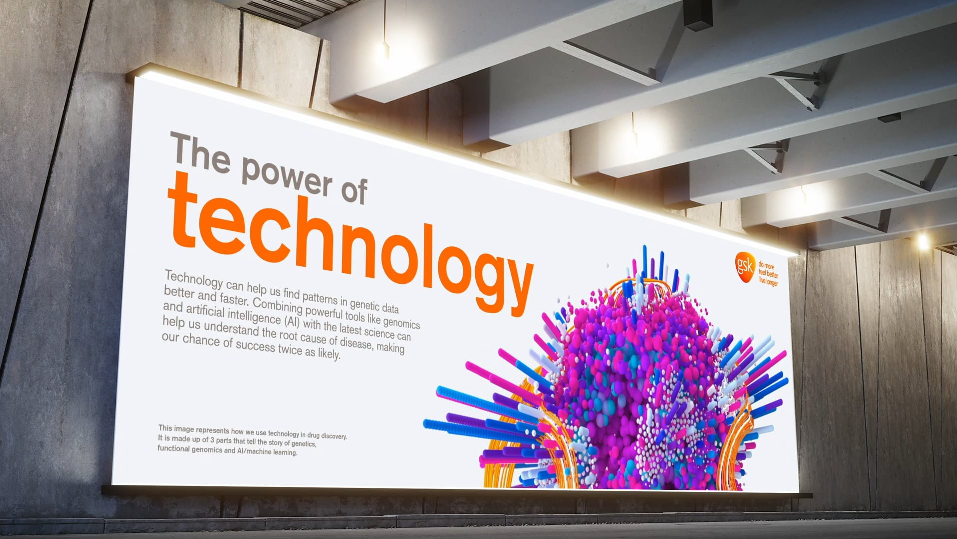 GSK Advanced Technology Billboard