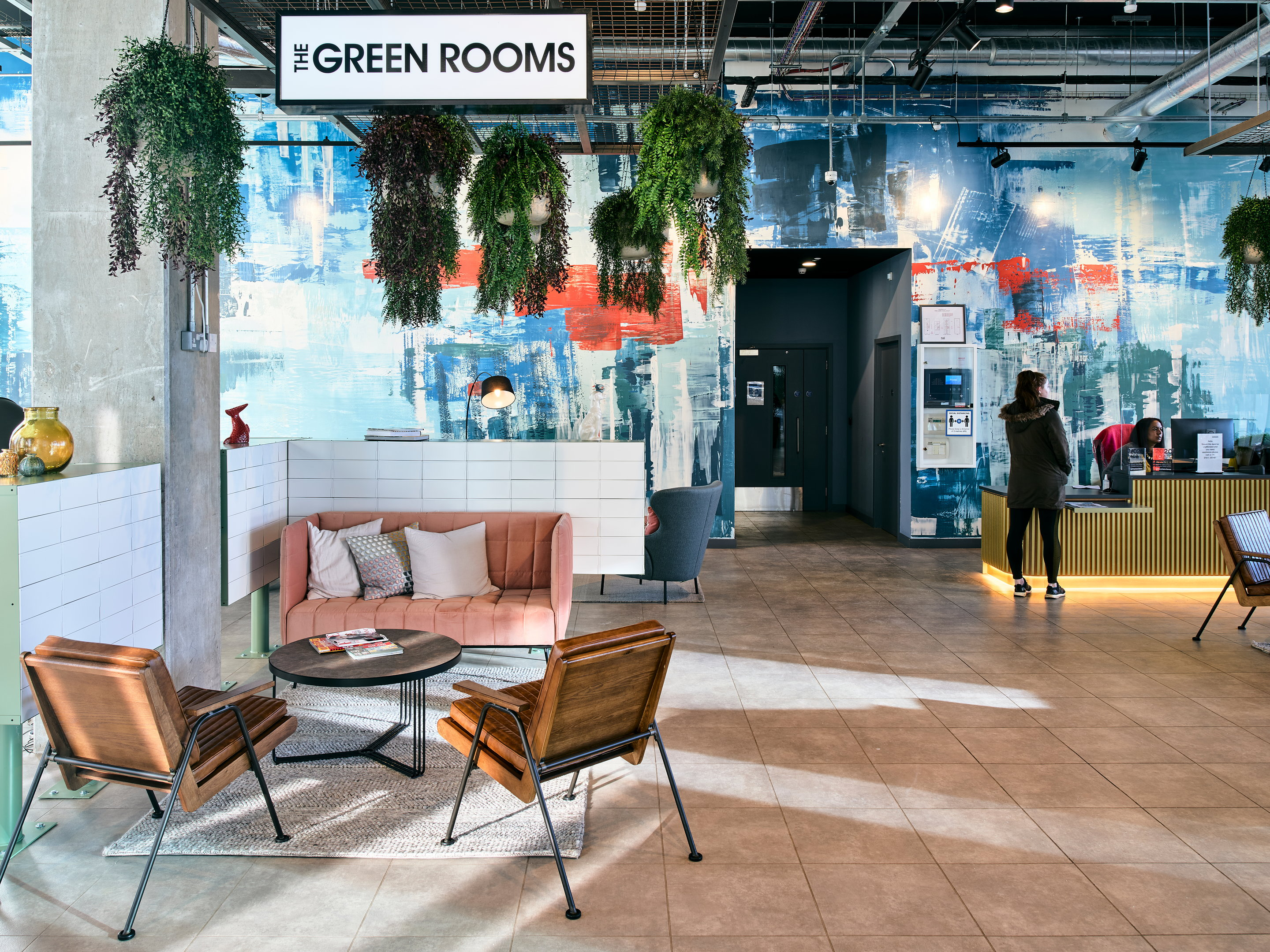 The Green Rooms Amenity Spaces