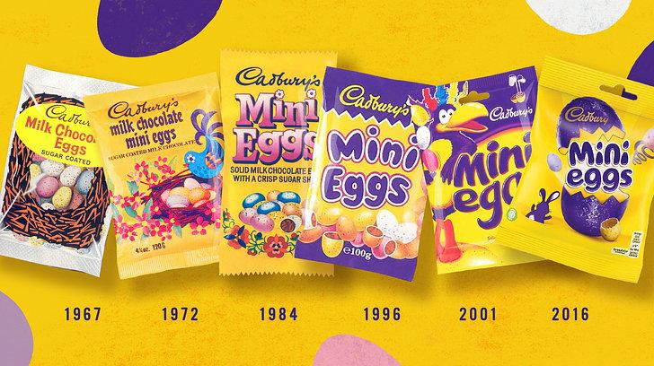 Bulletproof Rebrands Cadbury's Mini Eggs