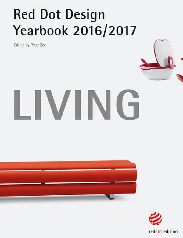 Red Dot Design Yearbook 2016/2017 - Living, Doing, Working and Enjoying