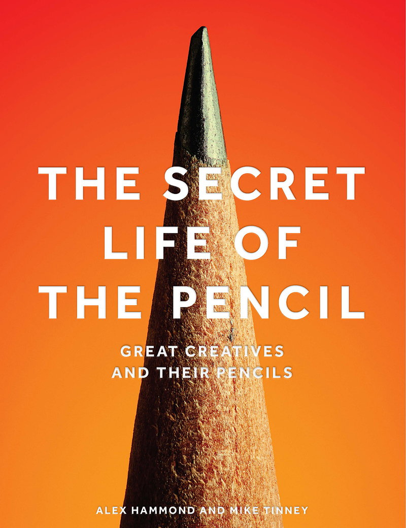 The Secret Life of the Pencil - Great Creatives and Their Pencils
