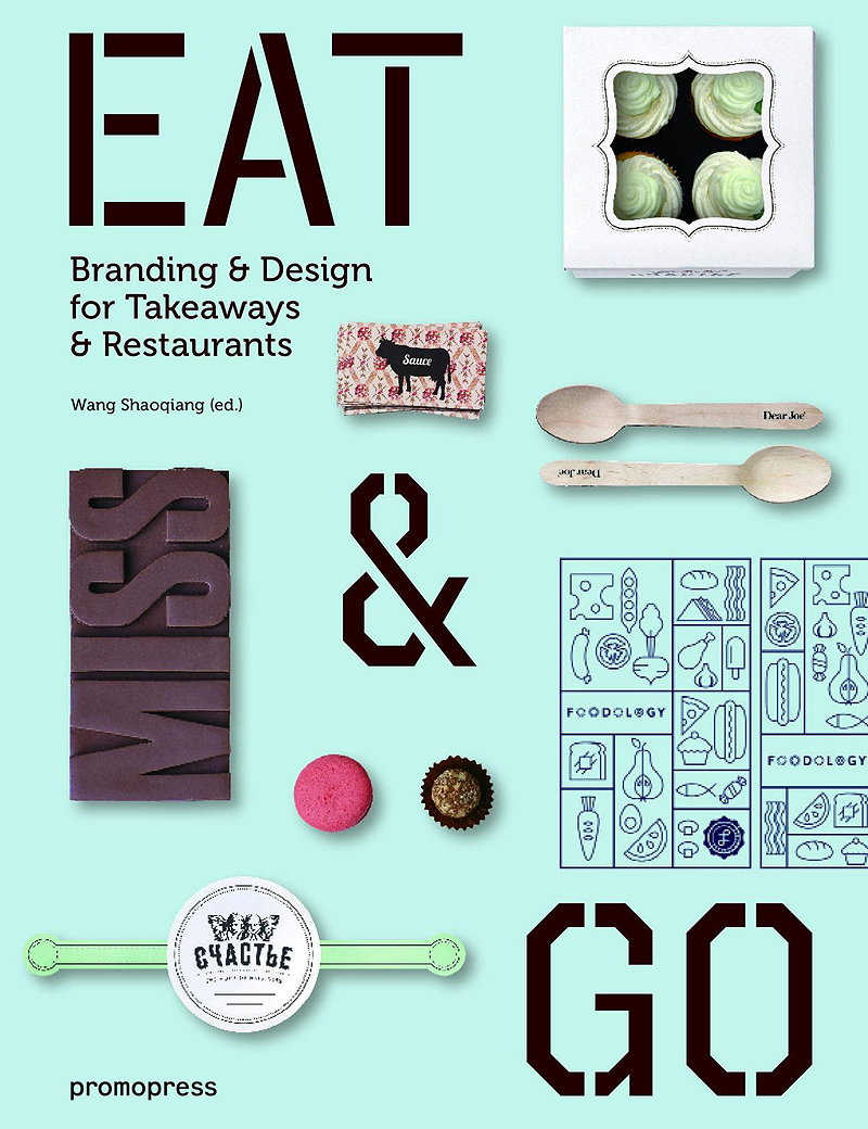 Eat and Go - Branding and Design Identity for Takeaways and Restaurants