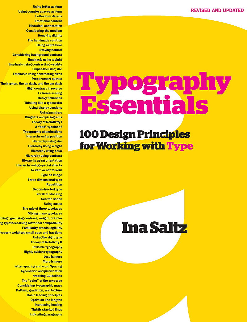 Typography Essentials - 100 Design Principles for Working with Type