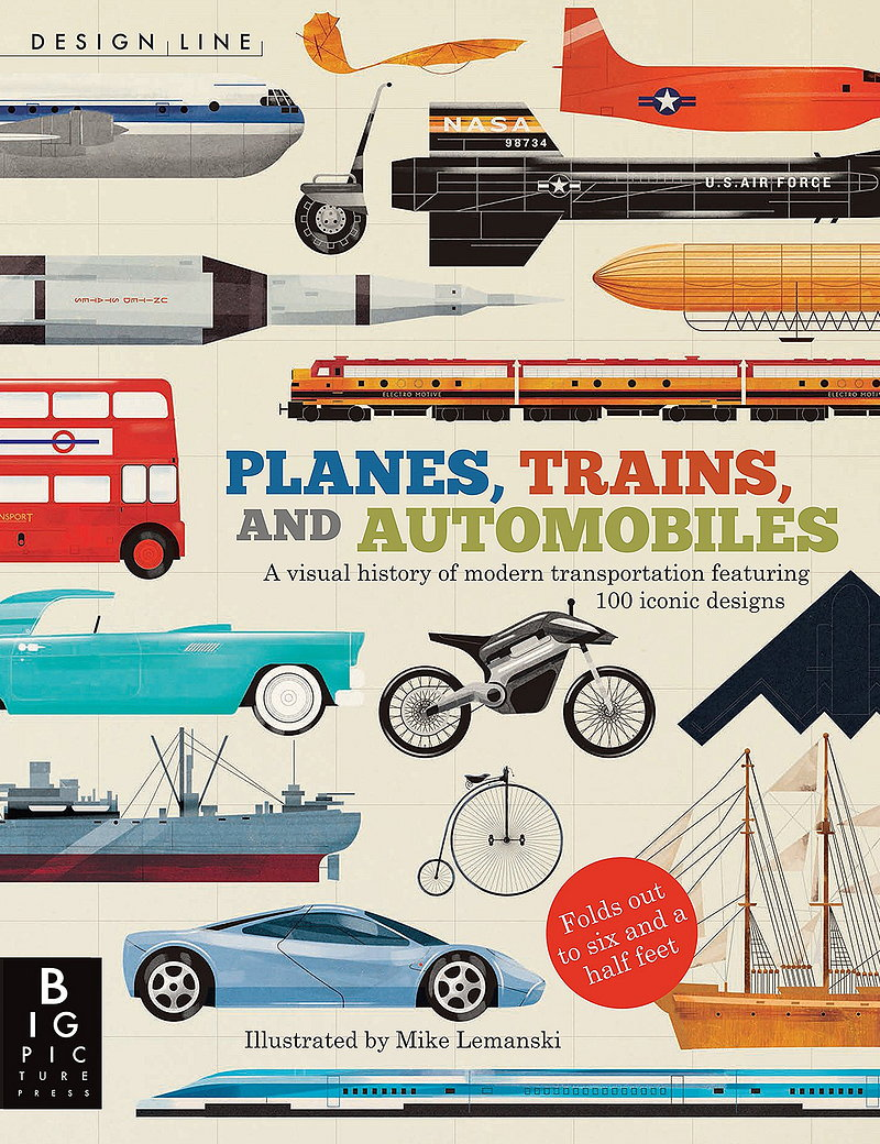 Design Line - Planes, Trains, and Automobiles