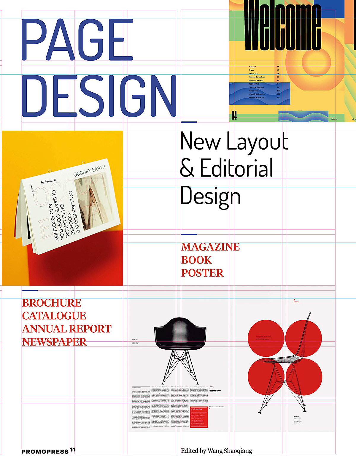 Page Design - Printed Matter and Editorial Design